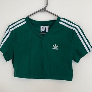 ADIDAS Cropped T-shirt Size S